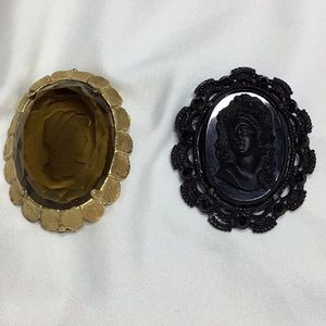 Two Unique Vintage Brooches